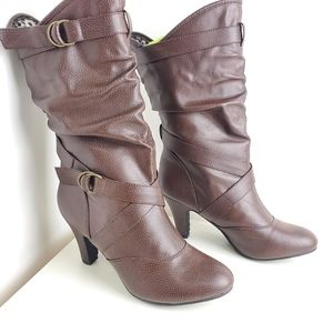 Jules & James brown boots size 9
